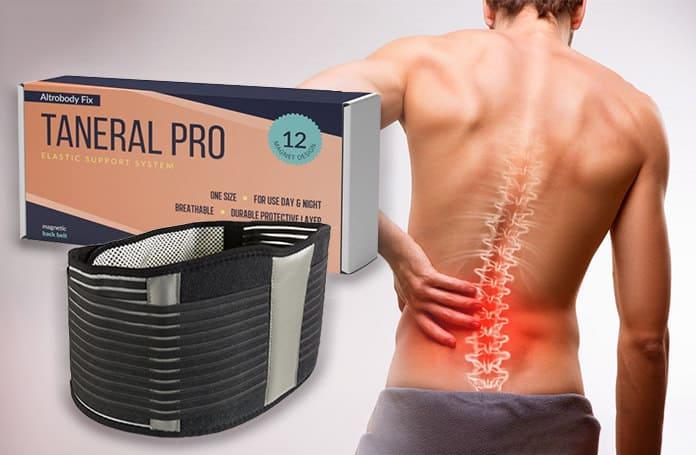 Taneral Pro magnetický pás pre problémy s chrbticou